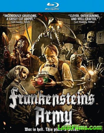 Скачать с TurboBit  Армия Франкенштейна / Frankenstein's Army (2013)