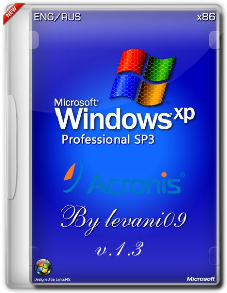 Скачать с turbobit Windows XP SP3 Professional Acronis Full v.1.3 03.04.2014 (RUS,ENG)