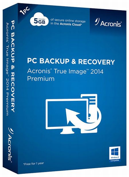 Скачать с turbobit Acronis True Image 2014 Premium 17 Build 6673 + Acronis Disk Director 11.0.0.2343 BootCD (2014) RUS