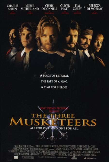Скачать с turbobit Три мушкетера / The Three Musketeers [1993]