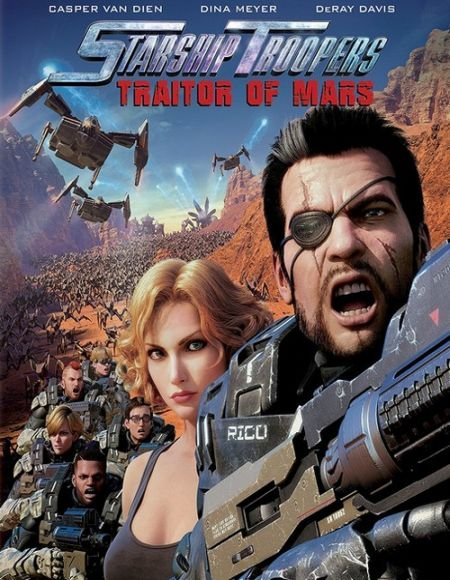 Скачать с turbobit Звёздный десант: Предатель Марса / Starship Troopers: Traitor of Mars (2017)