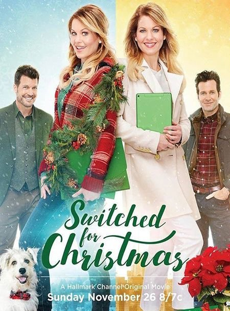 Скачать с turbobit Рождественская сестра / Switched for Christmas (2017)