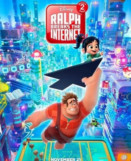 Скачать с turbobit Ральф против интернета / Ralph Breaks the Internet (2018)