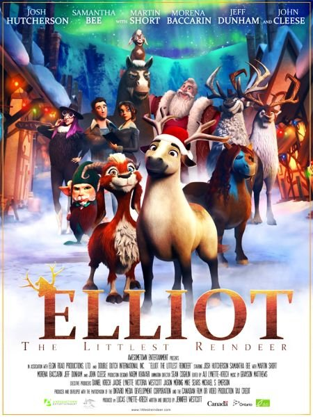 Скачать с turbobit Эллиот / Elliot the Littlest Reindeer (2018)