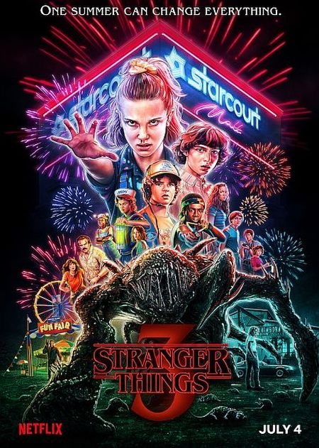 Скачать с turbobit Очень странные дела / Stranger Things  - 3 сезон (2019)