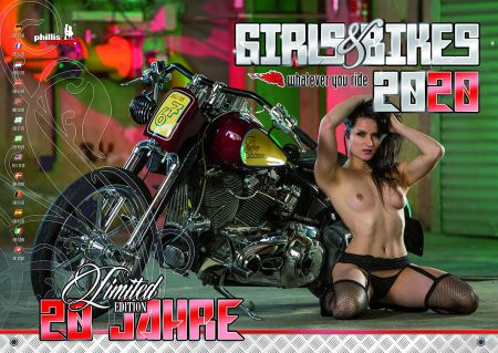 Скачать с turbobit Girls & Bikes - Erotic Calendar 2020