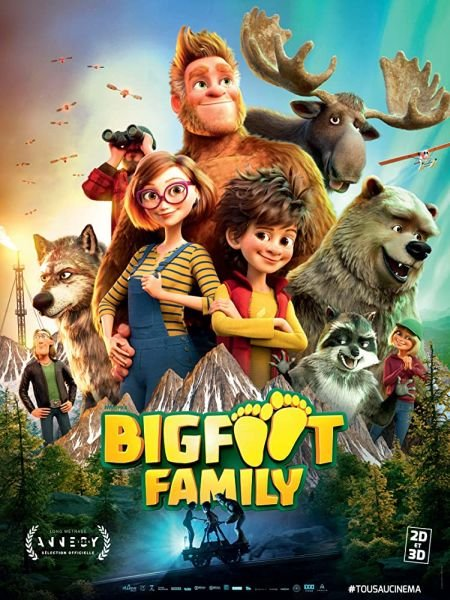 Скачать с turbobit Семейка Бигфутов / Bigfoot Family (2020)