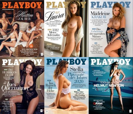 Скачать с turbobit Архив Playboy Germany 2020 года